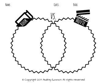 Book vs. Movie Venn Diagram