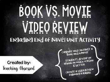 Book vs. Movie Video Review