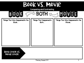 Book vs. Movie Video Review