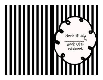 BookClub/NovelStudy Minibook