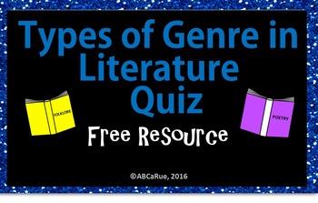 BookGenre Quiz