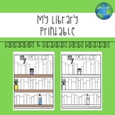 'My Library' Visual Reading Tracker