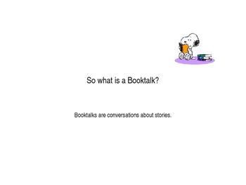 BookTalking with kids