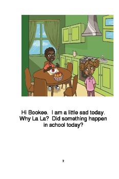 Bookee & La La Say No to the Pressure to be Stupid!