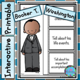 Booker T. Washington Activities - Black History Month Bull