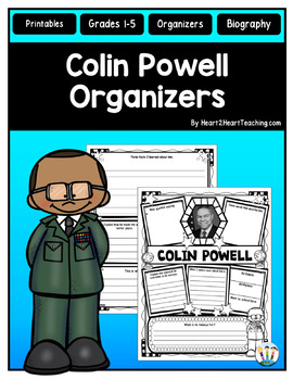Colin Powell Research Organizers for Black History Month