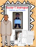 Booker T. Washington (A Black History Month Craftivity)
