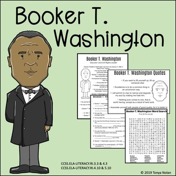 Booker T. Washington Activity Packet
