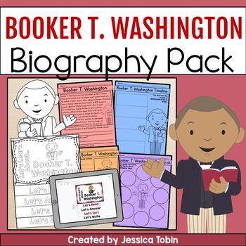Booker T. Washington Biography Pack