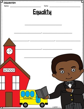 Booker T. Washington Biography Research Project, Flip Book, Black History Month