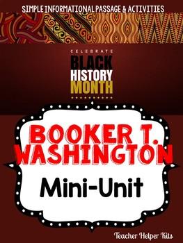 Booker T Washington - Black History Month