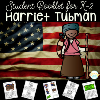 Harriet Tubman Black History Month Student Booklet & Retelling Puppets