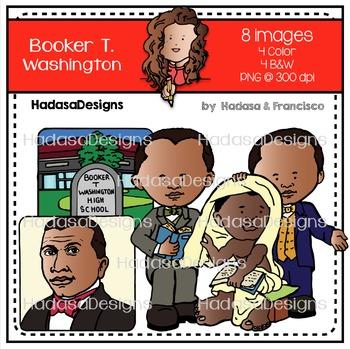 Booker T. Washington Clip Art Set