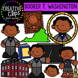 Booker T. Washington Clipart {Creative Clips Clipart}