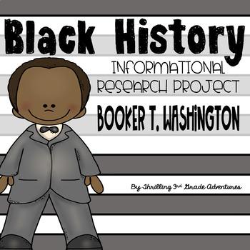 Booker T. Washington- Informational Writing