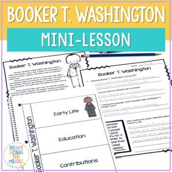 Booker T. Washington Mini-Lesson