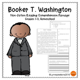 Black History Month Reading Passage - Booker T. Washington