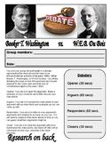 Booker T. Washington/W.E.B. DuBois Debate Project - Progre