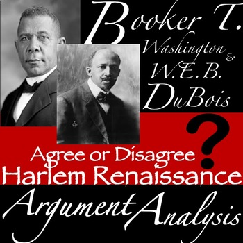 Booker T Washington And Web Dubois Teaching Resources Teachers