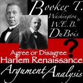 Booker T. Washington & W.E.B DuBois: Argument Analysis!