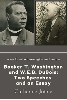 web dubois teaching resources teachers pay teachers  booker t washington and w e b dubois two speeches and an essay