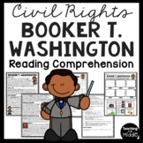 Booker T. Washington bio, questions, primary sources, Black History, Tuskegee