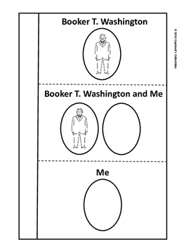 Booker T. Washington's Interactive Notebook Pages