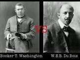 Booker T. Washington vs W.E.B. Du Bois Argumentative Essay