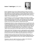 Booker T Washington vs WEB DuBois