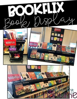 Bookflix Classroom Library Display (EDITABLE)