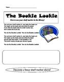 """""""Bookie Lookie"""" Shelf Marker Song and Worksheet"""