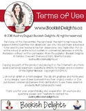Bookish Delights - Terms of Use Document