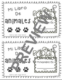 Booklet Animals in SPANISH PRINTABLE! Los Animales!