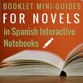 Booklet Mini-Guides for Novels in Spanish for Interactive