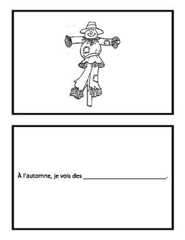 Booklet 'Pendant l'automne je vois...'