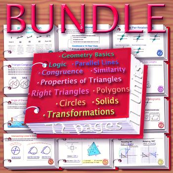 Booklet Sheets Bundle