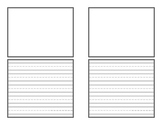 Booklet Style Writing Paper