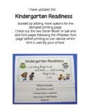 Booklet for Kindergarten Orientation