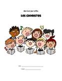 Booklet for the movie Les Choristes (en français) *RUBRIC