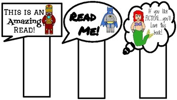 Bookmark Attention Grabbers (Lego Like theme)