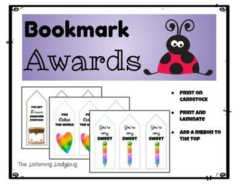 Bookmark Awards
