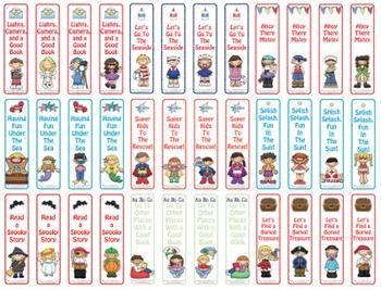 Bookmark Bundle for Librarians! 72 Bookmarks!