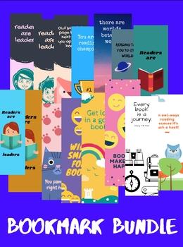 Bookmark Bundle- 15 Designs