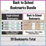 Back to School Bookmark Bundle