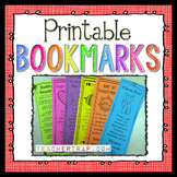 Printable Bookmarks for Holidays and Learning
