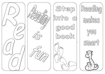 Bookmark Colouring