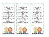 Bookmark Gift - From Student Teacher to Students