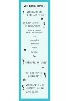 Bookmark - Guide to Reading