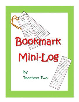 Bookmark Mini-Log