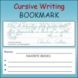 Bookmark - Motivational Quote with Cursive Pointers